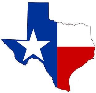 TexasFlagMap